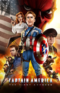 Captain America-flat copy